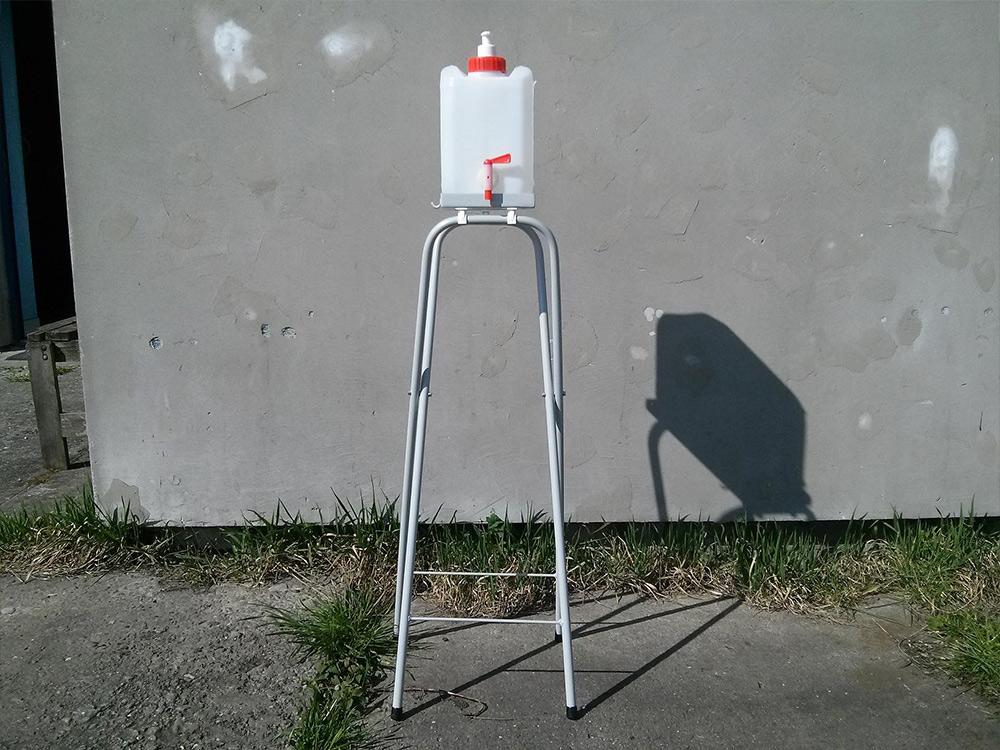 Stojak pod umywalkę turystyczną - zdjęcie 5