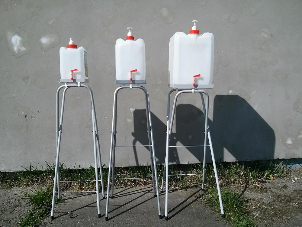 Stojak pod umywalkę turystyczną - zdjęcie 1