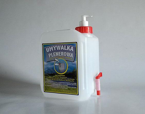 Umywalka plenerowa turystyczna - 5l